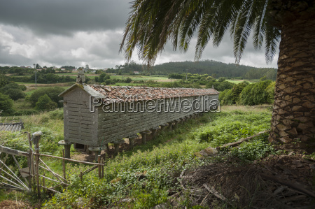 horreo stone granary a coruna galicia