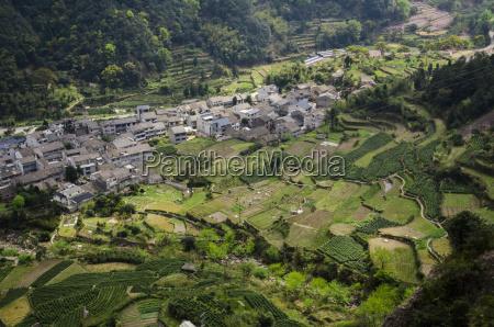 north yandang scenic area zhejiang province